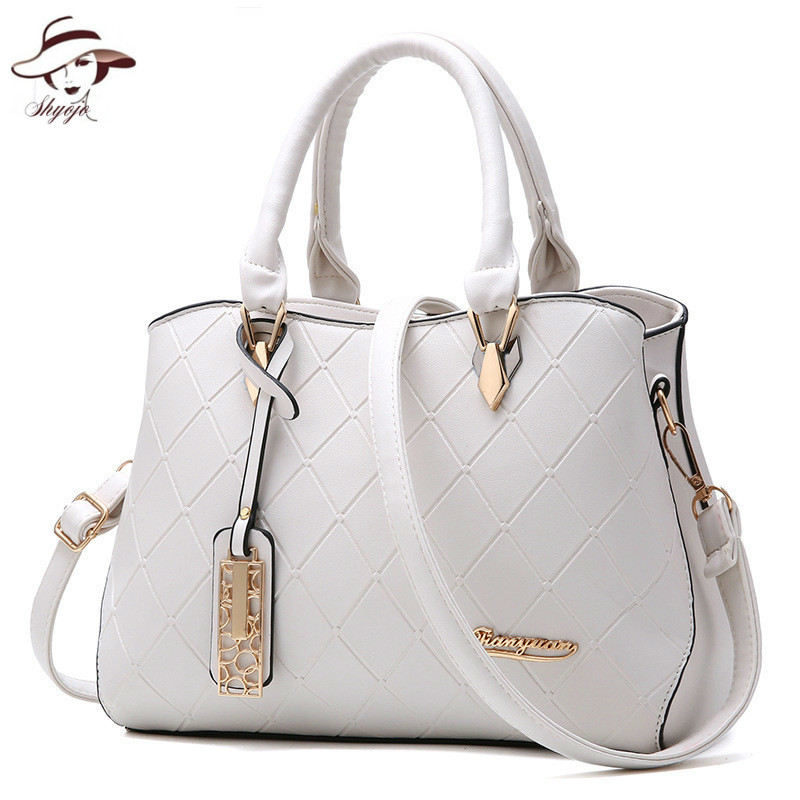Women Bag New Fashion Casual Designer Ladies Handbag Luxury Big Capacity Shoulder Bag High Quality PU Women Day Clutch OL Style