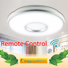 Modern LED Ceiling Lights AC 220V 240V Ceiling Light Lamparas de techo LED Ceiling Lamp For Living Room Bedroom Remote Control недорого
