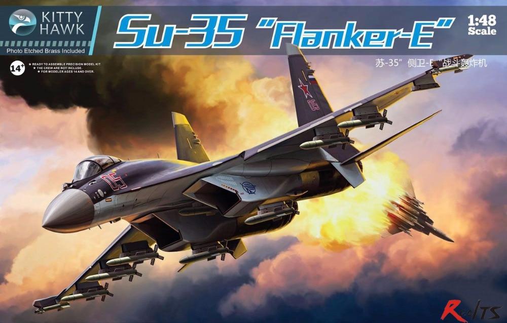 RealTS Kitty Hawk KH80142 1/48 Su-35 Flanker E цены