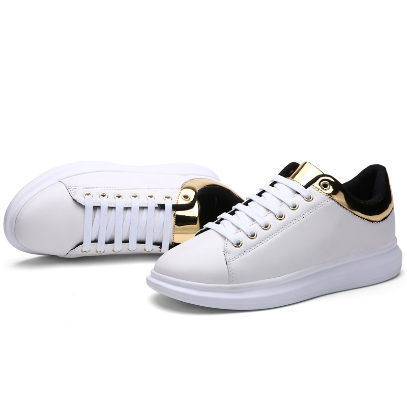 e7387a705c JKPUDUN Italian Mens Shoes Casual Luxury 2017 Designer Fashion Creepers  Shoes Men High Quality White Platform ...