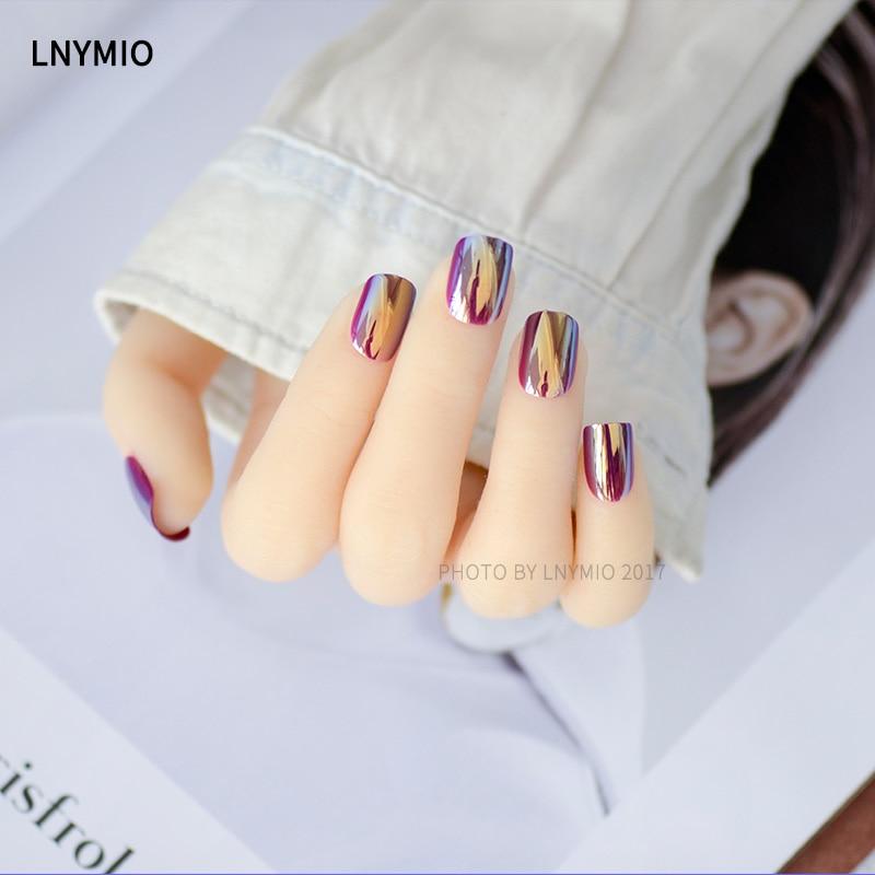 Tienda Online Uñas postizas manicura Rosa espejo nail color ...