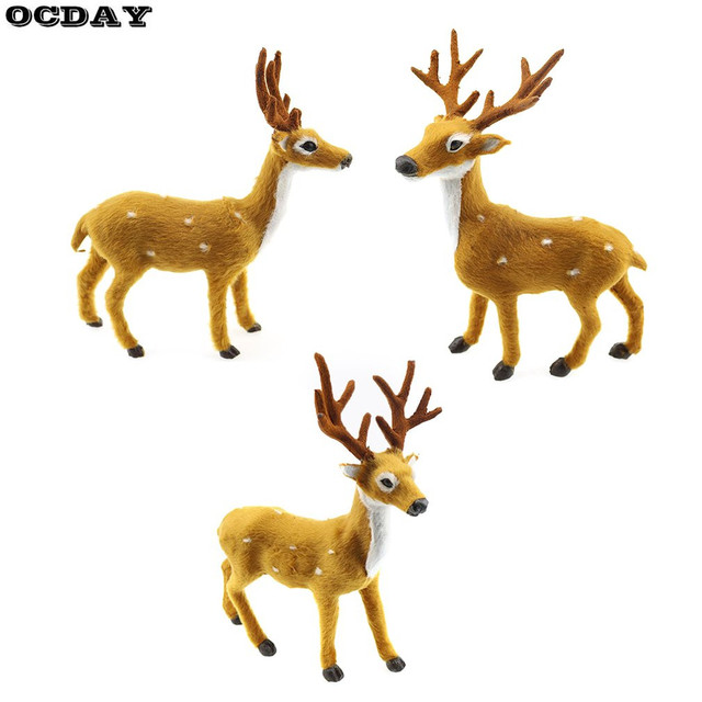 ocday 15 50cm christmas reindeer xmas elk lovely simulation plush