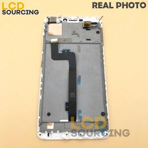 """Image 4 - A CRISTALLI LIQUIDI Per Xiaomi Mi Max 2 IPS da 6.44 """"pollici Display LCD Touch Screen Digitizer Assembly con Telaio per Mi max2 di Ricambio"""