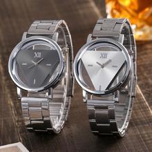 b70705c19b8 Newv vansvar Casual Quartz Aço Inoxidável Relógio de Pulseira de relógio  Analógico Relógio de Pulso kol