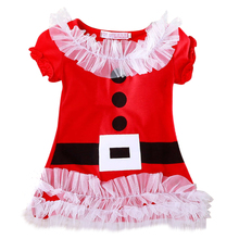 Infant Girl Dress Kids Baby Clothes 2017 Autumn Winter Princess Dresses Baby Girls Christmas Long Sleeves Children Fancy Gowns