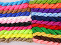 Wholesale 22 Rolls1.5mm Macrame Beading Rattail Braided Nylon Cords Chinese Knot Kumihimo String Thread for  Shamballa Bracelet