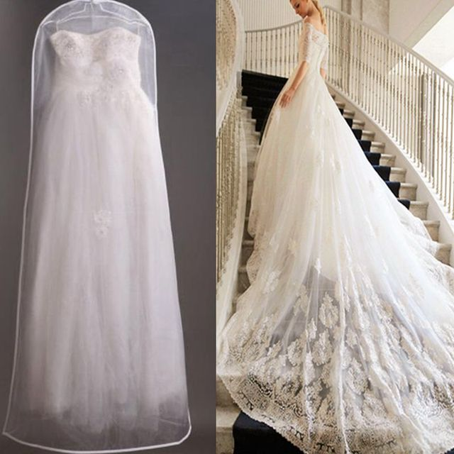 1pcs Large Bridal Gown Dress Set Wedding Storage Bag Breathable Garment Dust Proof Cover Ybs9058