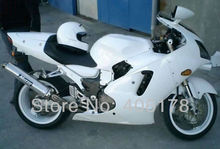 Hot Sales,Cheap Ninja ZX-12R 00 01 fairing kit For Kawasaki Ninja ZX12R 2000-2001 White Sport Bike Customized fairing Sets