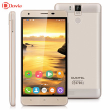 Oukitel K6000 Pro 5.5 «Android 6.0 MTK6753 Octa core 3 ГБ Оперативная память 32 ГБ Встроенная память 4 г LTE смартфон 13MP Dual SIM 6000 мАч