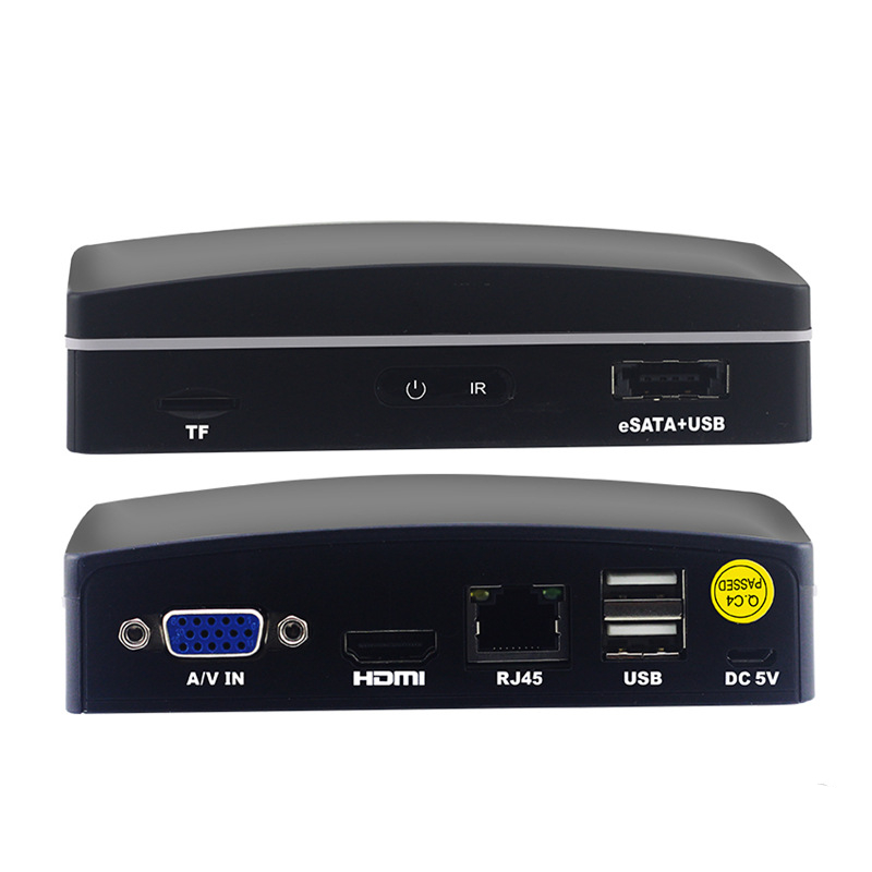 COOVISION 4 Channel H.264 1080P mini SD NVR recorder for ipcam