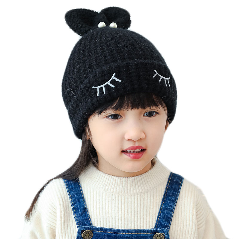 Baby Fashion Hat Autumn Boys Girls Hats Kids Winter Beanie Bonnet Enfant Hats For Children Cartoon Knitting  Warm Child Caps 2016 winter new soft bottom solid color baby shoes for little boys and girls plus velvet warm baby toddler shoes free shipping