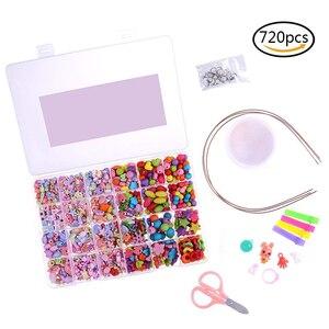 720 Pieces Kids DIY Bracelet N