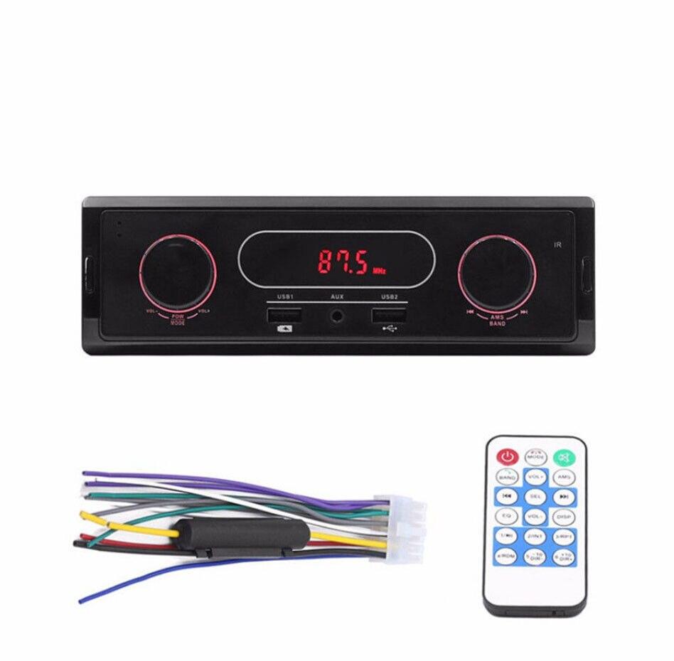 K502 Mp3 1 Din Auto Stereo Audio-player Unterstützung Fm/sd/aux/usb Interface Für Universal Radio Eingang Empfänger Ohne Fernbedienung Unterhaltungselektronik Hifi-player