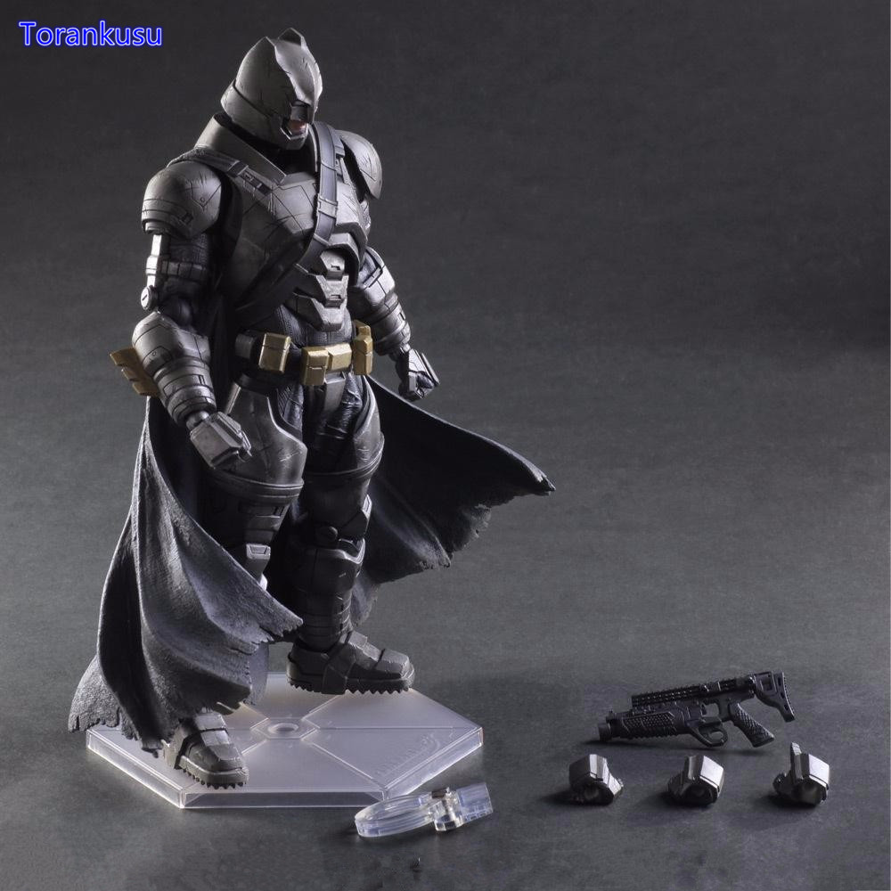 Batman Action Figures Play Arts Kai Batman v Superman Dawn of Justice Anime Model Toy Heavily-armored Playarts Kai PA14 tobyfancy play arts kai action figures batman dawn of justice pvc toys 270mm anime movie model pa kai heavily armored bat man