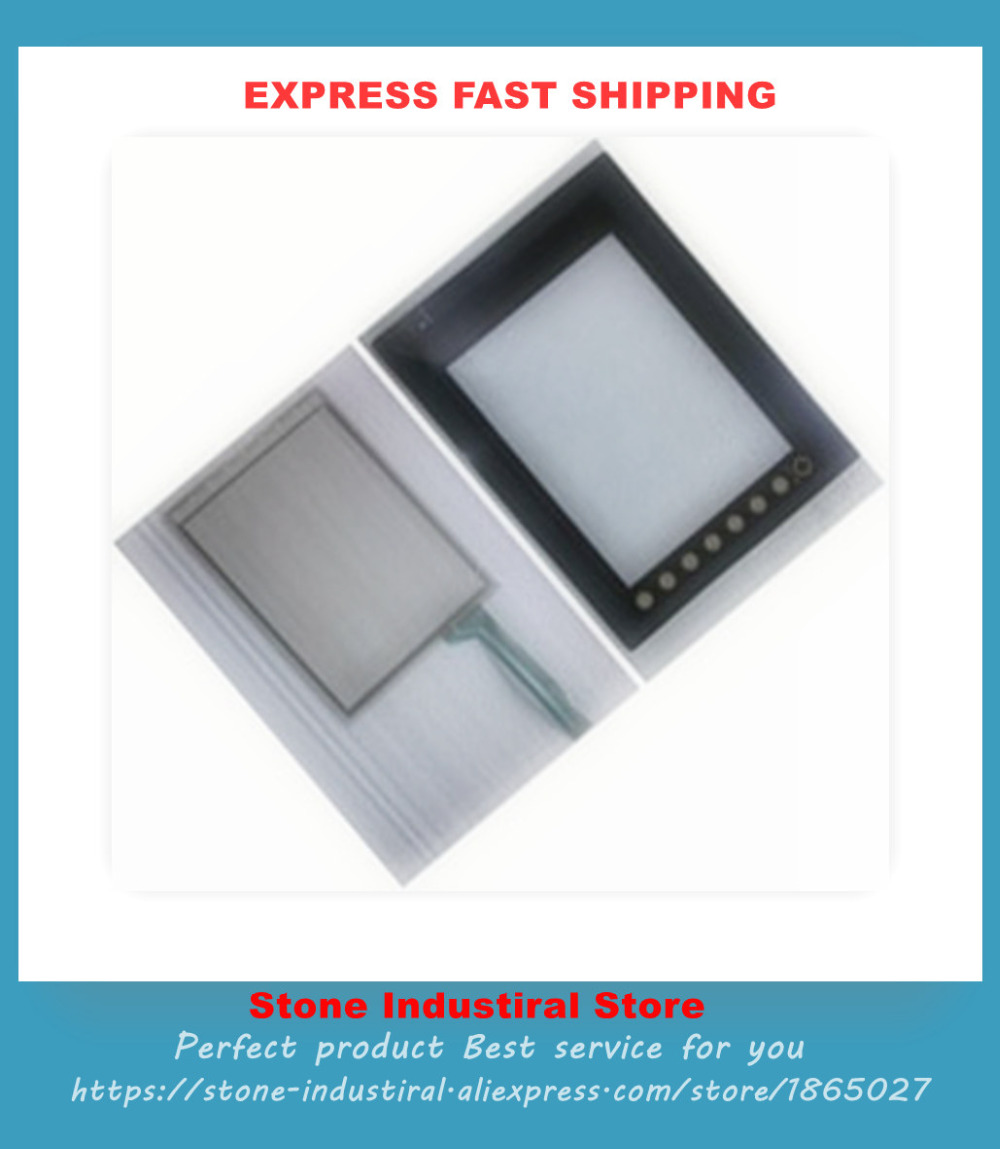 V810CD 10.4 Inch Compatible Touch Glass Panel + Protective Film New aigh07xt4du touch glass panel 7 compatible