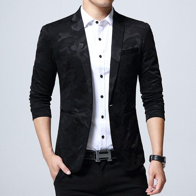 Aliexpress.com : Buy 2017 Fashion Men'S Suit Shining Pattern ...