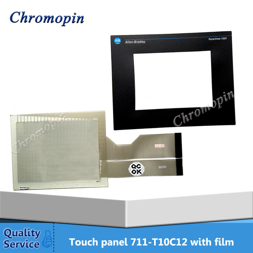 цена Touch panel for AB 2711-T10C12 2711-T10G10 2711-T10G3L1 2711-T10C3L1 PanelView 1000 with Protective film