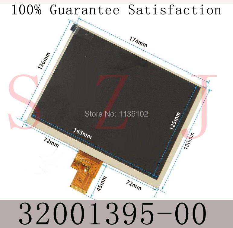(Ref:hj080ia-01e m1-a1 32001395-00) Original 8 inch LCD screen display tablet IPS screen free shipping 5Pcs/lot