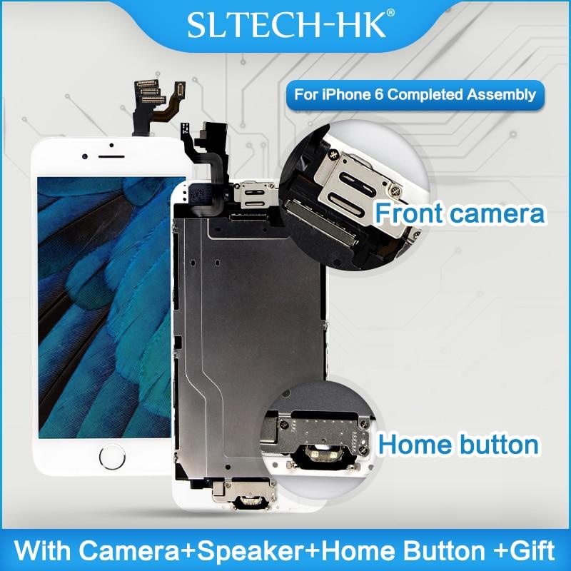 AAA +++ Para iPhone 6 6 Plus 6 S Mais LCD Tela Sensível Ao Toque Assembléia Completa Completa 100% Com Força 3D monitor de substituição Nenhum Pixel Morto