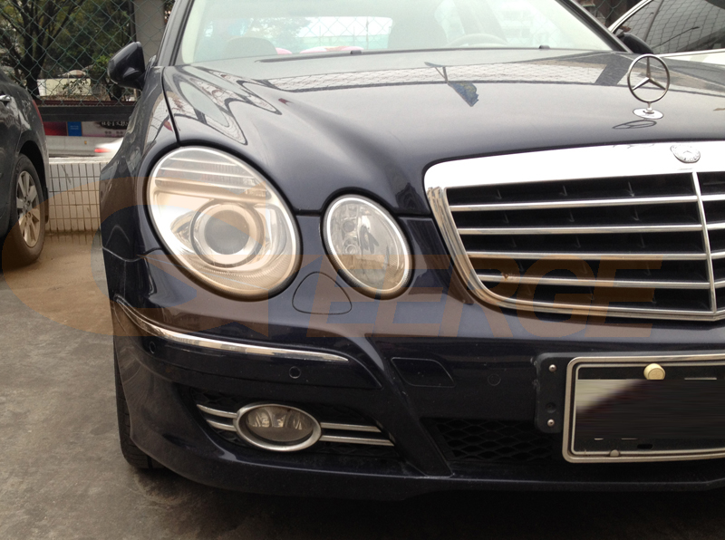 Для Mercedes Benz e class w211 E200 E220 E270 E280 E320 E420 CDI 2003-2009 отличные ангельские глазки ультра яркие CCFL ангельские глазки комплект