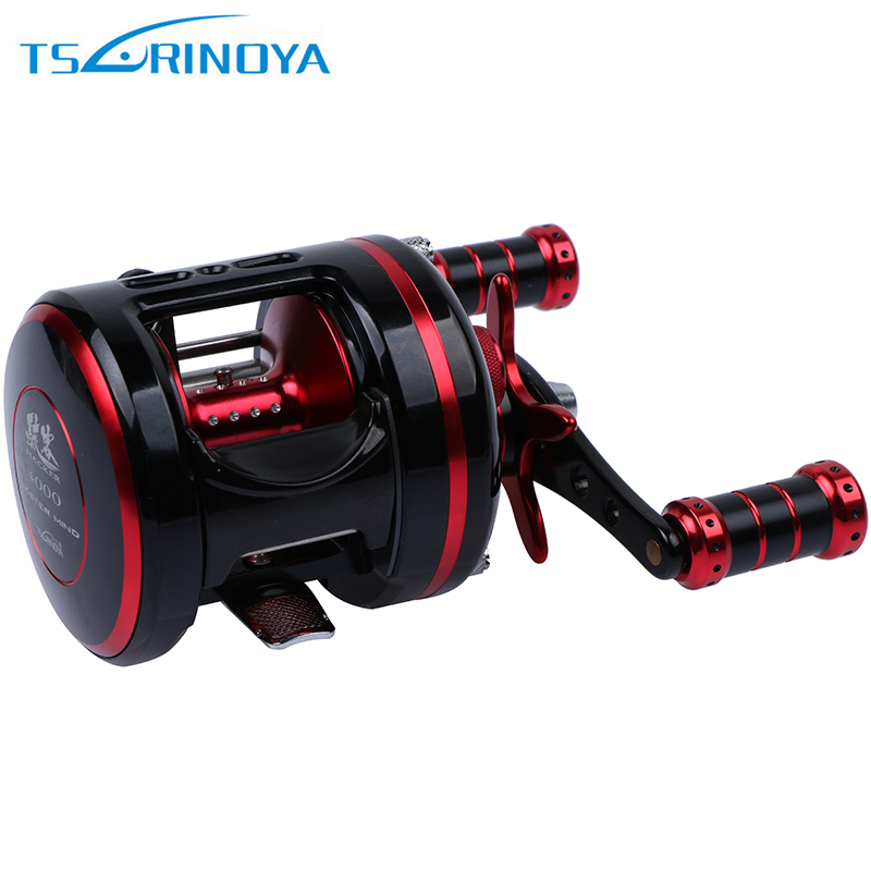 Trulinoya hacker cast drum drum fishing reel 5 3 1 8 for 5 3 fishing