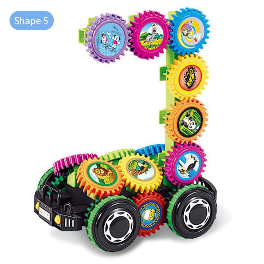 DIY Imagination Building Bricks Blocks Remote Control Car Building Kit Toys For Children Educational Toys Building Blocks t211