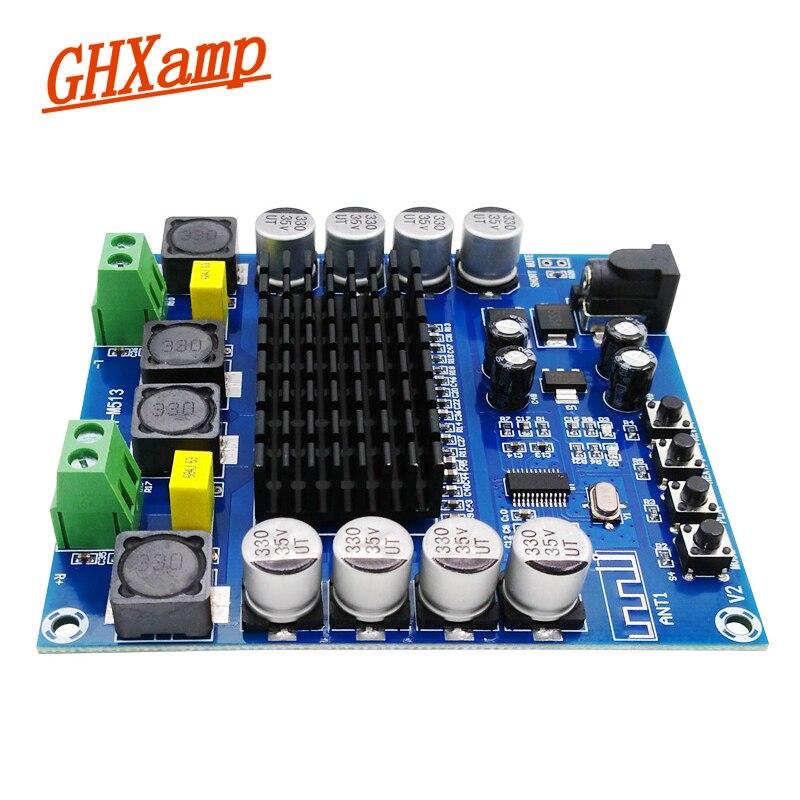 Ghxamp Новый TDA7498 Bluetooth аудио Усилители домашние доска 100wx2 цифровой MP3 дома Театр AMP Bluetooth Динамик DIY DC12-24V 10 м