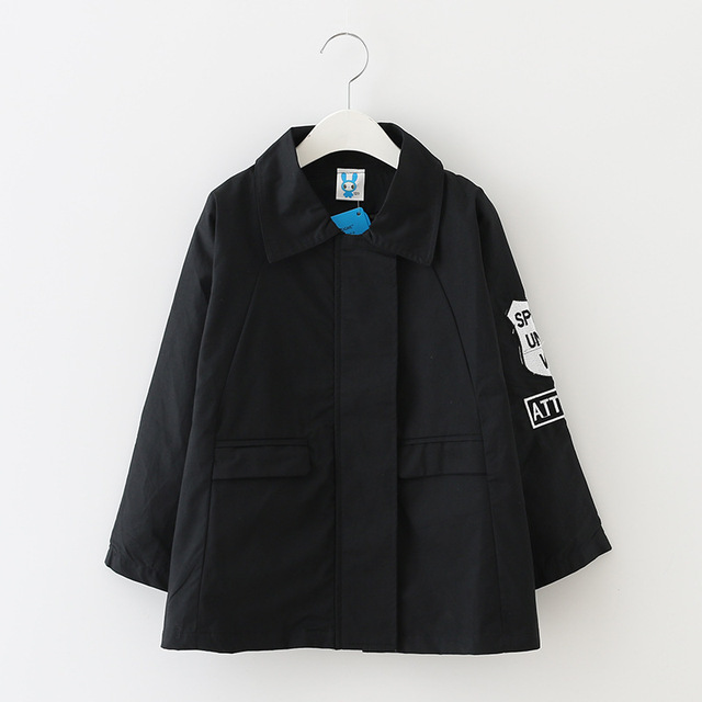 Big Girls Trench Coats Cotton Baseball Jackets For Girls Outerwear Children Clothing Autumn Teenager Outfits 8 10 12 14 16 Years