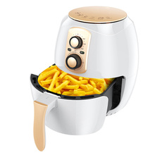 CUKYI 220V 1400W Oil Free Electric Fryer 3.8L Automatic French Fries Machine Health Food Cooking Pot Electric Baking Oven
