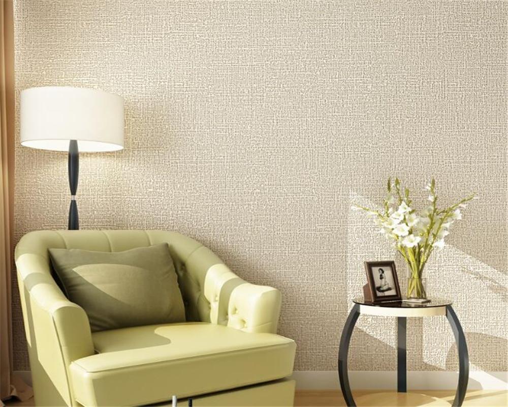 beibehang european solid color wallpaper modern living room