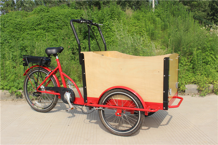Popular cheap pedal/electric cargo delivery tricycle big ...