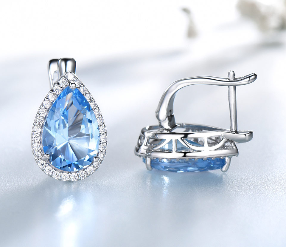 UMCHO-Sky-blue-topaz-925-sterling-silver-clip-earrings-for-women-EUJ087B-1PC_04