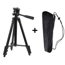 Discount! Hot Sale Professional Photographic Travel Portable Tripod for Digital Camera Camcorder Fold 35cm + 1pcs Nylon Carry Bag