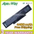 A32-z94 apexway nueva batería del ordenador portátil para asus squ-524 squ-528 squ-529 squ-718 bty-m66 bty-m68 a9 f3 m51 z53 series