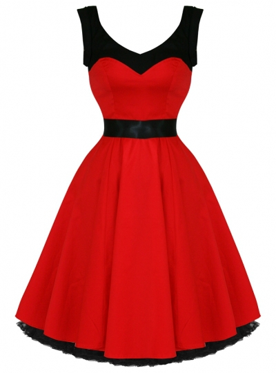 Vestido pin up barato