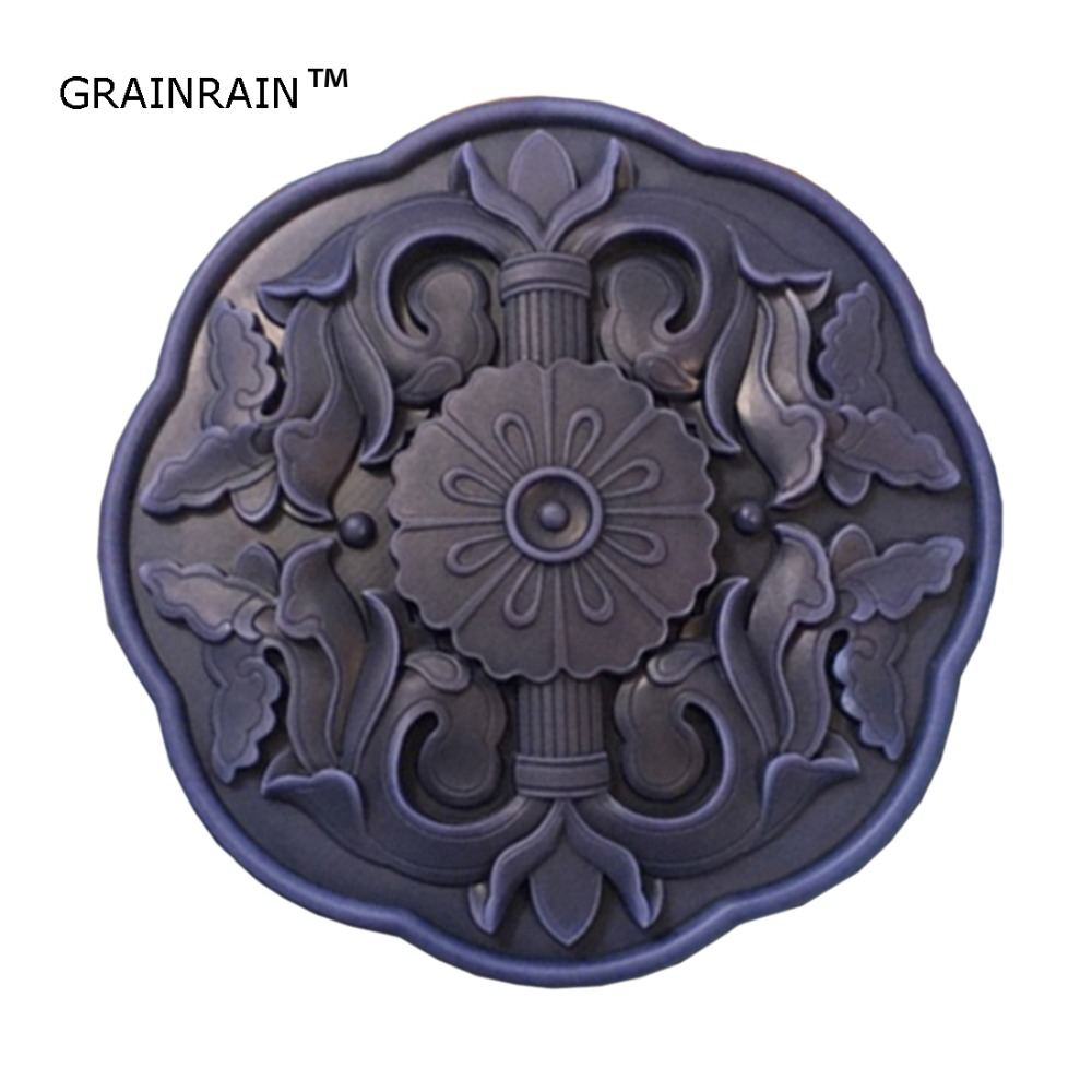 Grainrain Silicone Soap Mold Craft Flower Flexible DIY Handmade Soap Resin Candle Mould