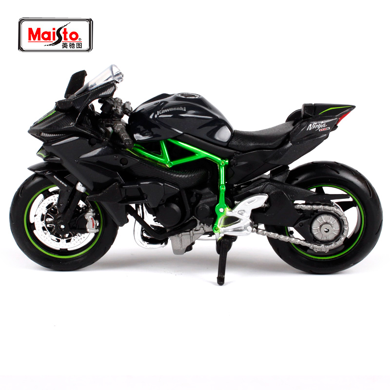 MAISTO 1:18 Kawasaki Ninja H2R H2 R MOTORKÉP BIKE DIECAST MODEL TOY NEW BOX 15931