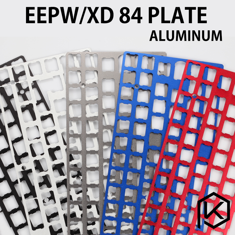 XD84 eepw84 Aluminum Mechanical Keyboard Plate support xd84 eepw84 75% pcb