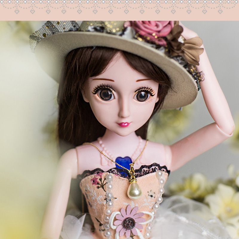 Girl Toy Simulation Variety Model Dress Up Wedding Princess Doll Set Gift BoxGirl Toy Simulation Variety Model Dress Up Wedding Princess Doll Set Gift Box