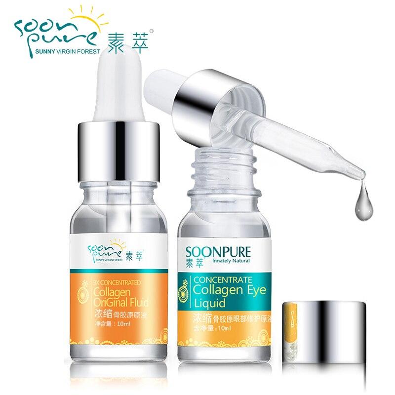 Купить Уход за кожей   SOONPURE 2pcs Concentrated Collagen ...