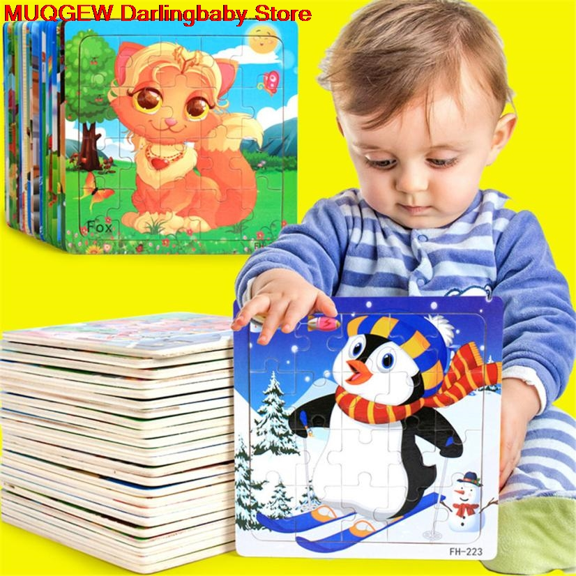 Hot Sale Wooden Puzzle Educational Developmental Kids Training Toy Interesting Toys Gift Children Early Training Game Puzzles