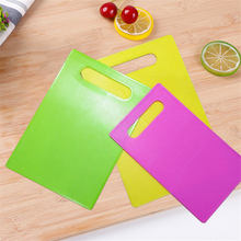 New Quality Dish Board Cutting Board Non_slip Fruit Rubbing Panel Kitchen Baby Table Mat S~L Dropshipping &923