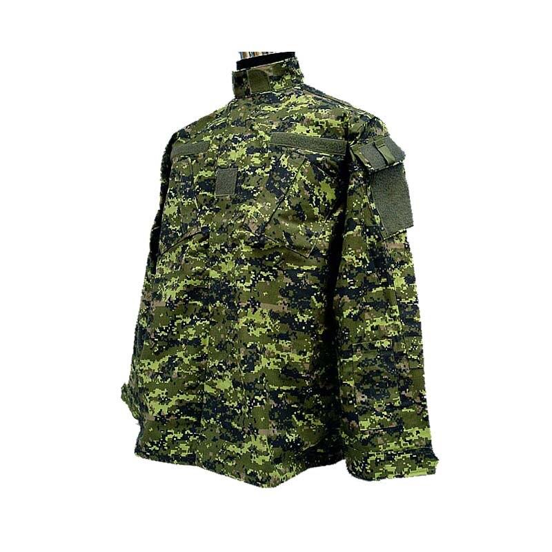 Camouflage militaire canadien dcamc numérique forêt Camo ACU Style uniforme ensemble dcamc numérique forêt Camo chemise et pantalon