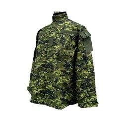 Camuflaje militar canadiense CADPAT Digital, Camuflaje del bosque, conjunto de uniforme de estilo ACU CADPAT Digital, bosque, camisa y pantalones