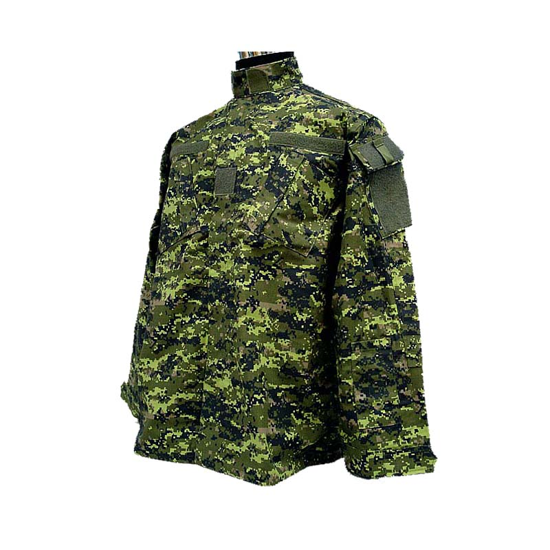Military Camouflage Canadian CADPAT Digital Woodland Camo ACU Style Uniform Set CADPAT Digital Woodland Camo Shirt And Pants
