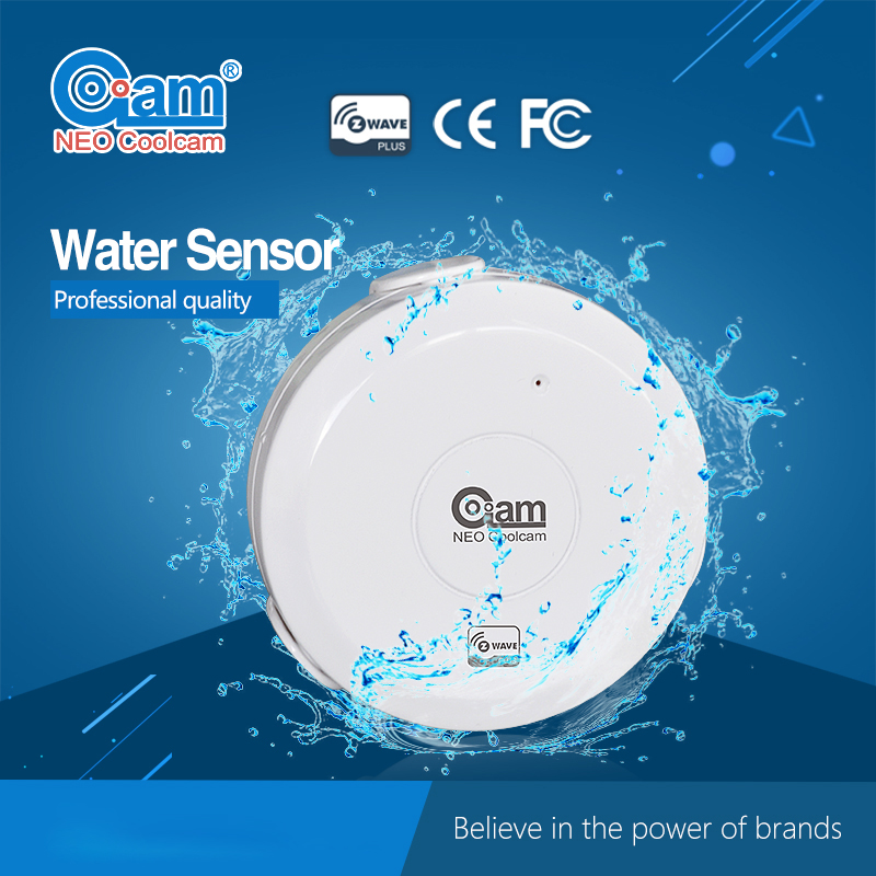 NEO Free shipping NAS-WS01Z Z wave Flood Water Leak Alarm Sensor Water Leakage Sensor Z-wave Sensor Alarm Home Automation System цена