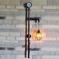 Boa Qualidade de Ferrugem de Metal Abajur Lâmpadas de Parede Retro Loft Estilo Industrial Do Vintage Parede interior Luz E26/E27 Base de Lâmpada