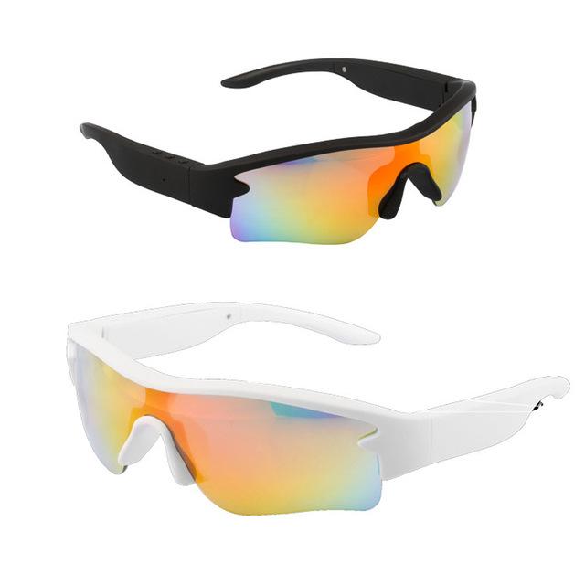 Novos Óculos de Sol fone de Ouvido Bluetooth Estéreo Noite Ao Ar Livre Óculos Esportes earphonefone de ouvido Fones De Ouvido Estéreo com Microfone Sem Fio