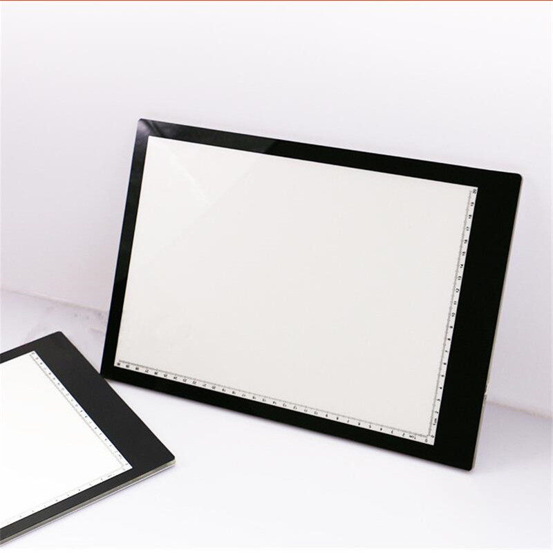 1PCS 5.5mm Super Thin A4 LED Drawing Copy Tracing Stencil Board Table Tattoo Pad Translucent Light Box USB