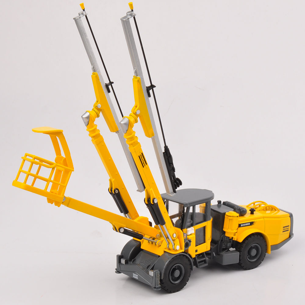 ФОТО 1/50 Alloy Diecast Truck Model Toys New Copco Face Drilling Rig Bommer E2 C Engineering Car   Toys Kids Gifts Collections
